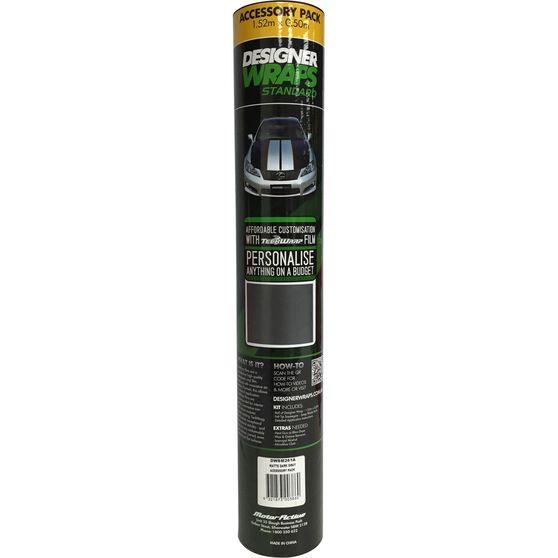 Designer Wraps Standard - Matte Dark Grey, Accessory Pack, 1.52 x 0.50m, , scaau_hi-res