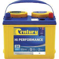 Century Hi Performance Car Battery 43, , scaau_hi-res
