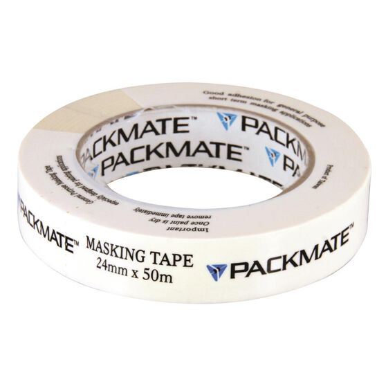 Packmate Masking Tape - 24mm x 50m, , scaau_hi-res