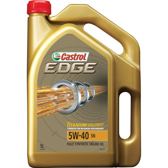 Flot Castrol Edge Engine Oil - 5W-40, 5 Litre | Supercheap Auto AX-68