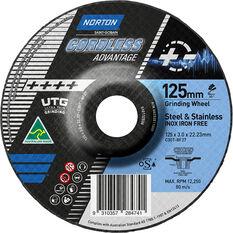 Norton Cordless UTG Wheel 125mm, , scaau_hi-res