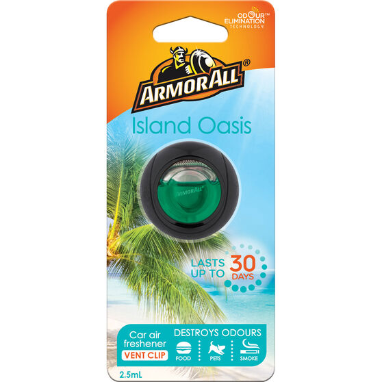 Armor All Air Freshener, Vent - Island Oasis, 2.5mL, , scaau_hi-res