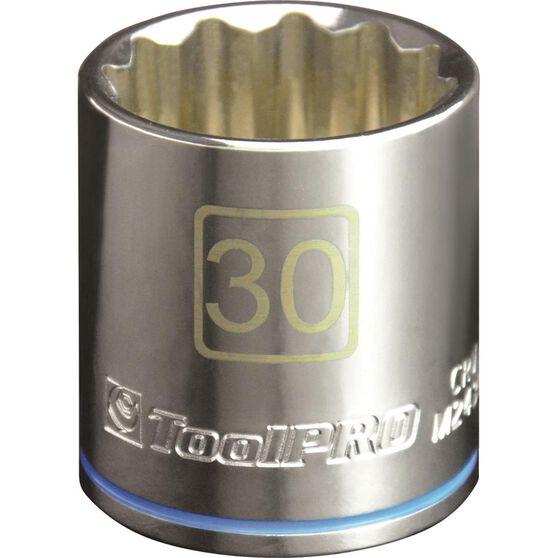 ToolPro Single Socket - 1 / 2 inch Drive, 30mm, , scaau_hi-res
