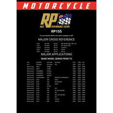 Race Performance Motorcycle Oil Filter - RP155, , scaau_hi-res