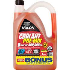Nulon Anti-Freeze / Anti-Boil Red Premix Coolant - 6 Litre, , scaau_hi-res