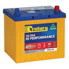 Century Ultra Hi Performance Car Battery 75D23L MF, , scaau_hi-res