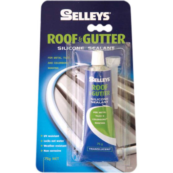 Roof & Gutter Sealant - Translucent, 75g, , scaau_hi-res