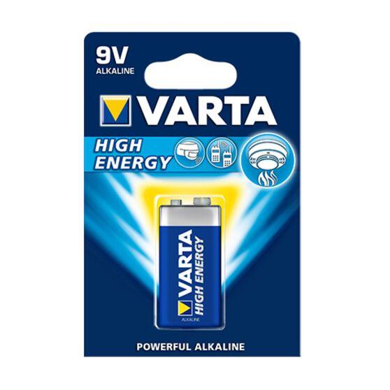 Varta High Energy Battery - 9V, 1 Pack, , scaau_hi-res