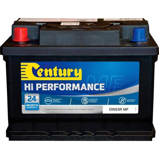 Century Hi Performance Car Battery DIN53R MF, , scaau_hi-res
