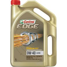 Castrol EDGE Engine Oil - 0W-40, A3/B4, 5 Litre, , scaau_hi-res