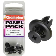 Champion Scrivet Clips - 8mm, PP68, Panel Pack, , scaau_hi-res