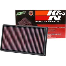 K&N Air Filter 33-3005 (Interchangeable with A1858), , scaau_hi-res