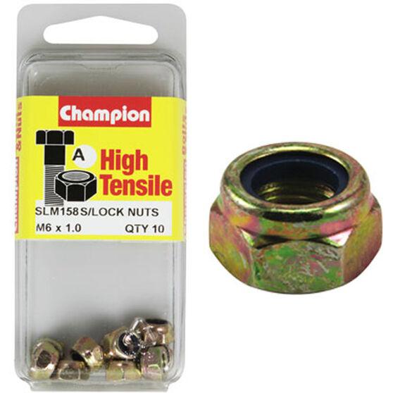 Nylon Nuts - M6x1.00, High Tensile, , scaau_hi-res