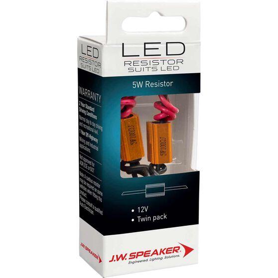 JW Speaker Load Resistor - LED, 12V, 5W, , scaau_hi-res