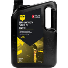 SCA Semi Synthetic Engine Oil 10W-40 5 Litre, , scaau_hi-res