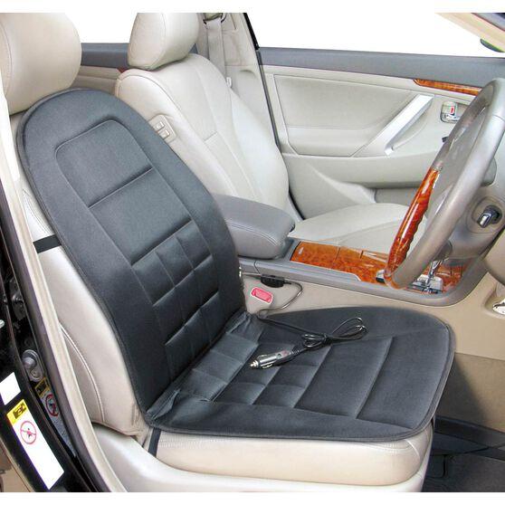 SCA Heating Seat Cushion - Black, 12V, Single, , scaau_hi-res