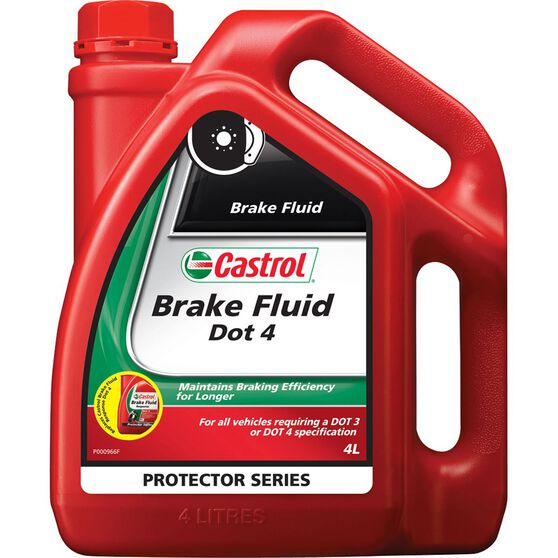 Castrol Response Brake Fluid DOT 4 - 4 Litre, , scaau_hi-res