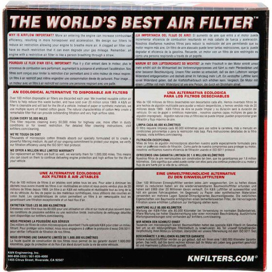 K&N Air Filter - E-3270, , scaau_hi-res