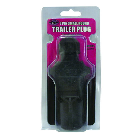 KT Cable Trailer Plug, Plastic - Small Round, 7 Pin, , scaau_hi-res
