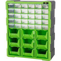 39 Drawer Organiser - Green, , scaau_hi-res