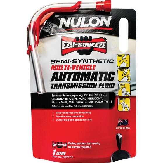 Nulon EZY-SQUEEZE Multi-Vehicle Automatic Transmission Fluid 1 Litre, , scaau_hi-res