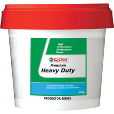 Castrol Premium Heavy Duty Grease 500g, , scaau_hi-res