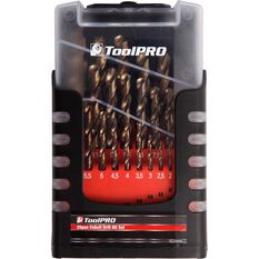 ToolPRO Cobalt Drill Bit Set 25 Piece, , scaau_hi-res