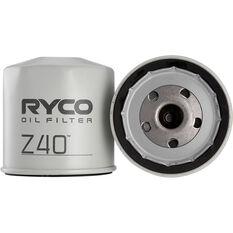 Ryco Oil Filter Z40, , scaau_hi-res