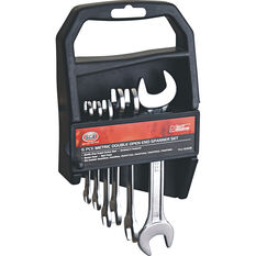 SCA Spanner Set - Double Open End, 6 Piece, Metric, , scaau_hi-res