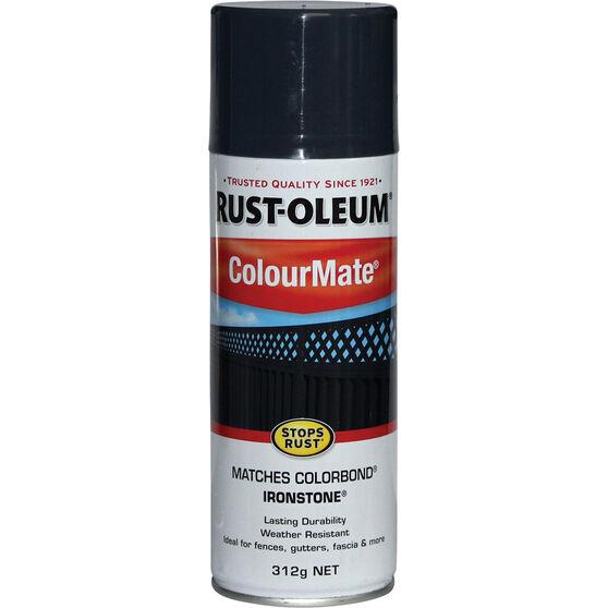 Rust-Oleum Aerosol Paint - Colourmate, Ironstone 312g, , scaau_hi-res