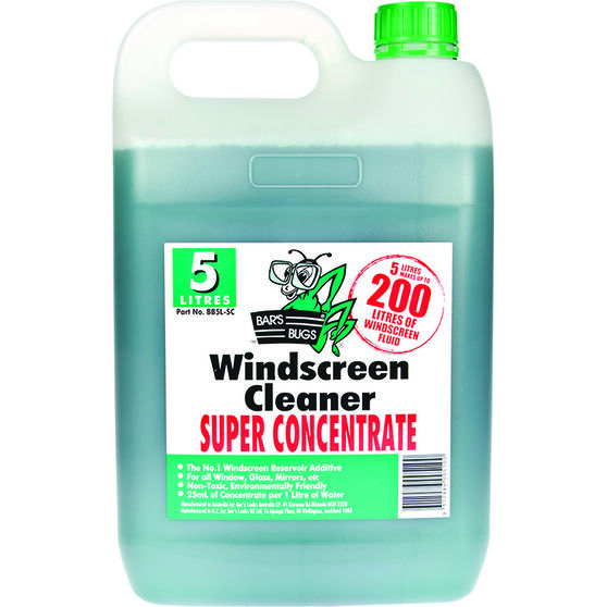 Bar's Bugs Windscreen Cleaner - 5 Litre, , scaau_hi-res