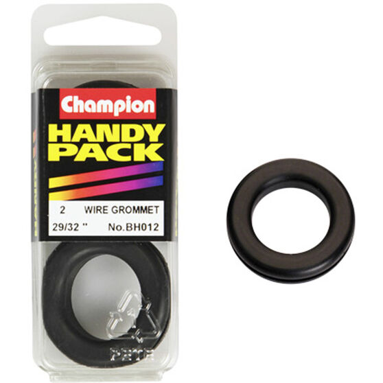 Champion Wiring Grommet - 29 / 32inch, BH012, Handy Pack, , scaau_hi-res