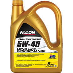 Nulon Full Synthetic Long Life Engine Oil 5W-40 5 Litre, , scaau_hi-res