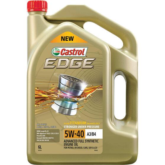 Castrol EDGE Engine Oil 5W-40 6 Litre, , scaau_hi-res