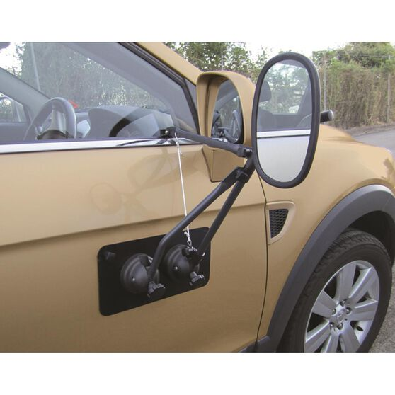 Drive Towing Mirror - With Magnetic Support Pad, Single, , scaau_hi-res