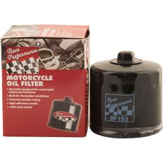 Race Performance Motorcycle Oil Filter - RP303, , scaau_hi-res