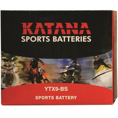 Powersports Battery -  YTX9BS, , scaau_hi-res