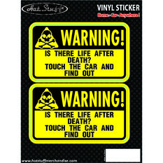 Hot Stuff Sticker - Life After Death, Vinyl, , scaau_hi-res