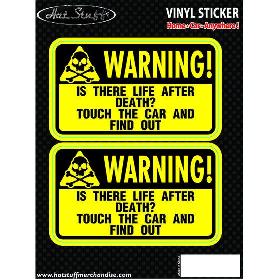 Hot Stuff Sticker - Life After Death, Vinyl, , scaau_hi-res