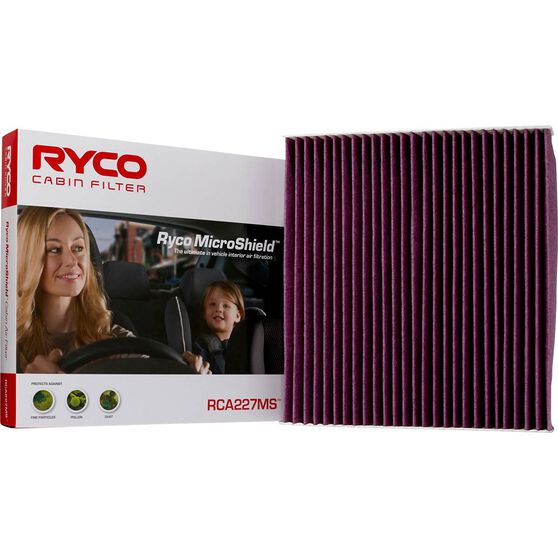 Ryco Cabin Air Filter Microshield - RCA227MS, , scaau_hi-res