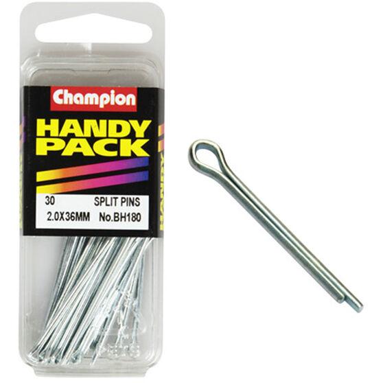 Champion Split Pins - 2.0mm, BH180, , scaau_hi-res