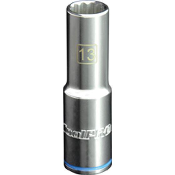 ToolPRO Single Socket - Deep, 1 / 2 inch Drive, 13mm, , scaau_hi-res