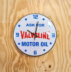 Valvoline Vintage Wall Clock, , scaau_hi-res
