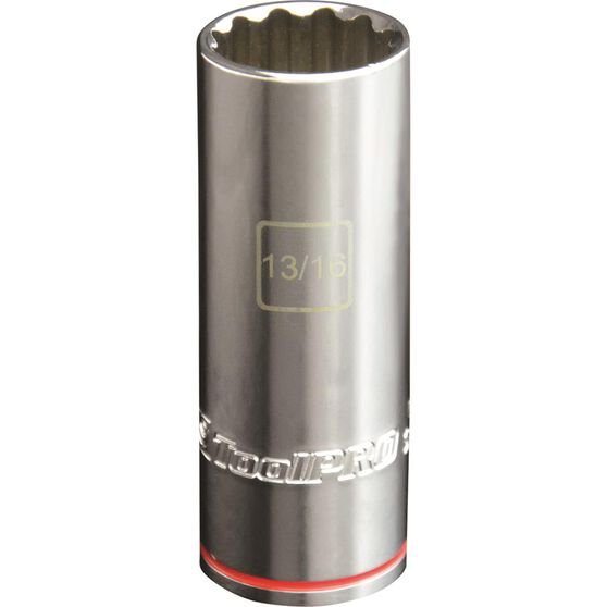 ToolPRO Single Socket - Deep, 1 / 2 inch Drive, 13 / 16 inch, , scaau_hi-res