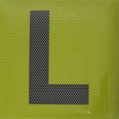 L Plate - Clear Vision, Standard, 2 Pack, , scaau_hi-res