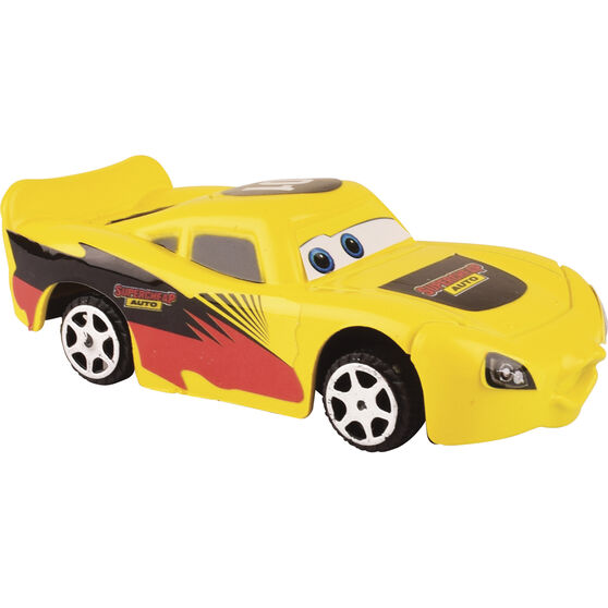 Chase plastic race car, , scaau_hi-res