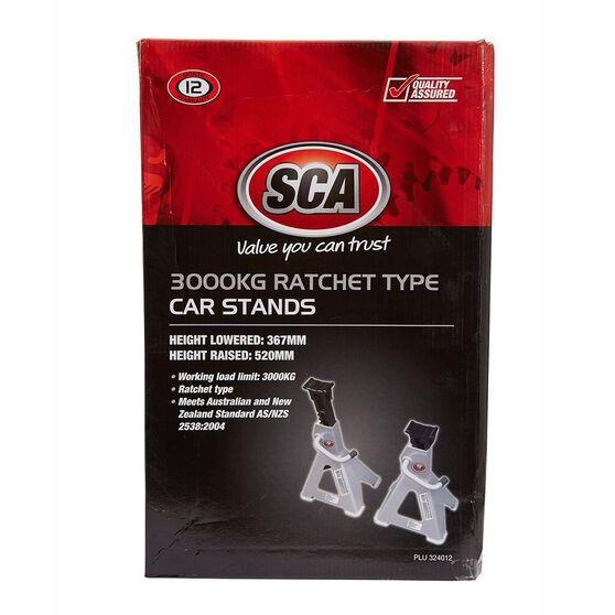 SCA Car Stands - Ratchet, 3000kg, , scaau_hi-res