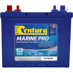 Century Marine Pro Battery - MP680 / NS70M MF, 680CCA, , scaau_hi-res