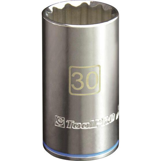 ToolPRO Single Socket - Deep, 1 / 2 inch Drive, 30mm, , scaau_hi-res