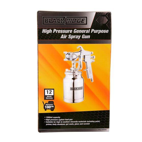 Blackridge High Pressure Air Spray Gun - 1000mL, , scaau_hi-res